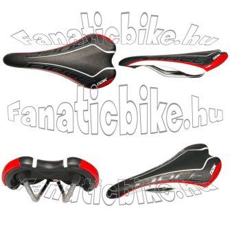 DDK 530 EXR nyereg fekete-piros-fehér