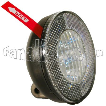 Elemes 3 ledes első lámpa sárvédő felé szerelhető