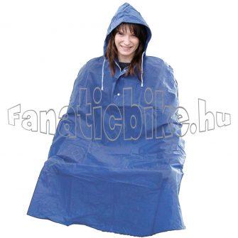 Esőkabát pvc kék
