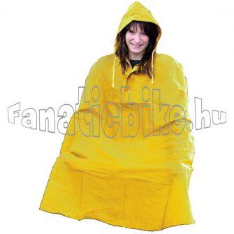 Esőkabát pvc sárga
