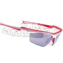 Bikefun Mach1 szemüveg piros-fehér