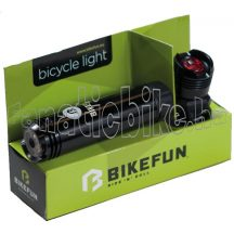 Bikefun Shot 1+1 led USB lámpa szett