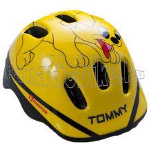 Bikefun Ducky fejvédő XS 44-48cm kutyás sárga