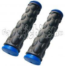 Színes gumimarkolat fekete-kék