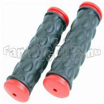 Színes gumimarkolat fekete-piros