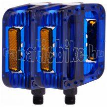 M-wave műanyag pedál 9/16 kék