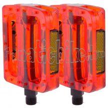 M-wave műanyag pedál 9/16 piros