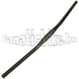 31,8x700mm alu egyenes kormány matt fekete