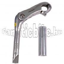 Promax alu álítható stucni 22.2/25.4mm ezüst