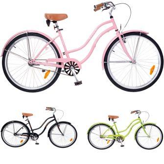 Neuzer Beach cruiser női kerékpár fehér