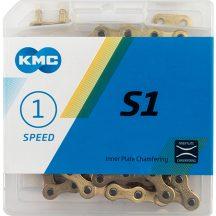 KMC Z-410 1 sebességes  116 szem lánc arany + patentszem