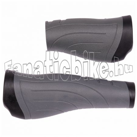 Velotech Ergo 135/92mm tenyértámaszos markolat fekete-szürke