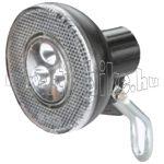Velotech 3 ledes elemes első lámpa + tartó