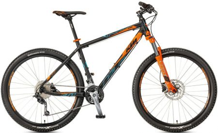 "KTM Ultra Fun 27.5 (17"") black (orange+ma-blue) 2017"