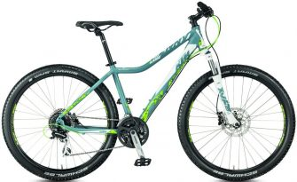 KTM Penny Lane 27.24 (47cm) disc hidraulikus matt dove (white-neongreen) 2017