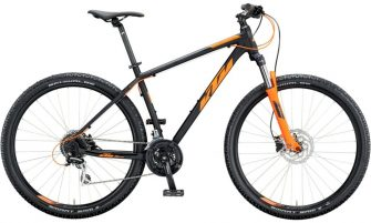 KTM CHICAGO DISC 27 M48 black matt (orange) 2020