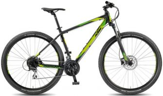 "KTM Chicago 27.24 Disc H 19"" matt black (green) 2018"