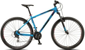 "KTM Chicago 27.24 Classic matt marseileblue (black+red) 19"" 2018"