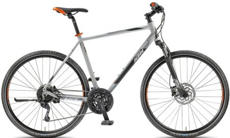 KTM Life Road 27 Disc H 51cm matt lightgrey (black+orange) 2018