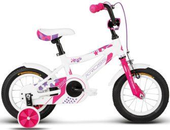 "Kross Maya 12"" white-pink-violet glossy"