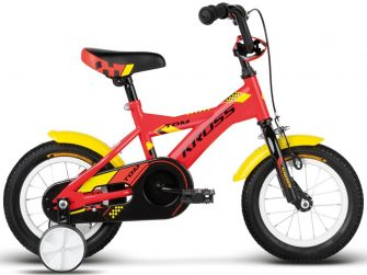 "Kross Tom 12"" red-yellow-black glossy"