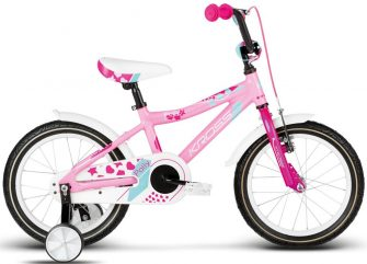 "Kross Polly Alu 16"" pink-sky blue glossy"