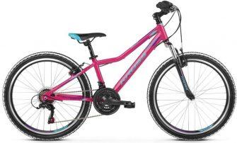 """Kross Lea Junior 1.0 S (24/12"""") rózsaszín-kék-lila"""