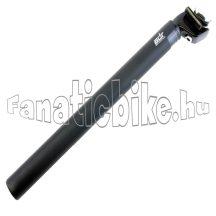 ADR 29,6X350mm Alu nyeregcső fejjel matt fekete