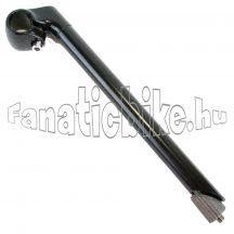 Acél-alu stucni 22,2x270mm fekete