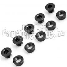 Lasco lánctányér csavar (5db) fekete