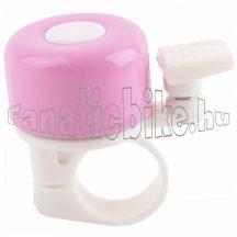 Rózsaszín-fehér kicsi csengő