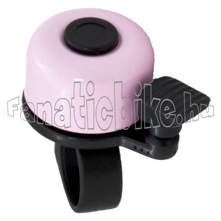 Rózsaszín-fekete kicsi csengő