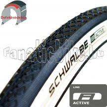 Schwalbe HS159 27x1,1/4 (28/32-630mm) fehér oldalfalu köpeny