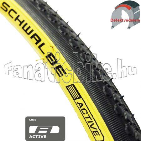 Schwalbe HS159 27x1,1/4 (28/32-630mm) sárga oldalfalu köpeny