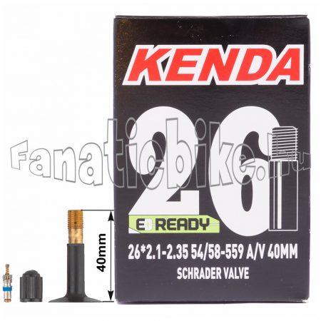 Kenda 26x2.35 tömlő 40mm Autószelepes