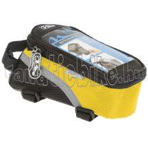 Rotterdam telefontartó táska vázra L sárga