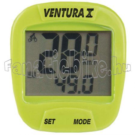 Ventura 10 funkciós computer zöld