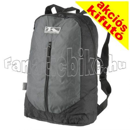 M-Wave hátizsák 21 liter 3 zseb fekete-szürke