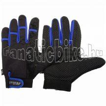 Ventura kesztyű hosszú ujjú L fekete-szürke