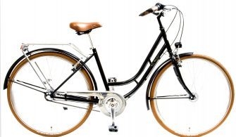 """Csepel Weiss Manfréd 28"""" N3 női kerékpár fekete"""