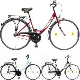 """Csepel Budapest A 28"""" kontrafékes kerékpár"""