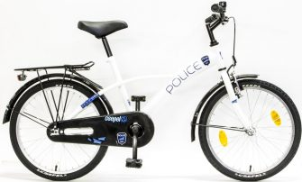 """Csepel 20"""" Police fehér-kék"""