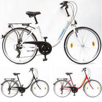 """Csepel Budapest B 26"""" 7 sebességes kerékpár"""
