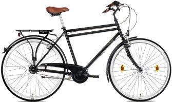 """Csepel Weiss Manfréd 28/22"""" férfi N7 agyváltós kerékpár fekete"""