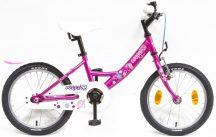 """Csepel Lily 16"""" kontrafékes kerékpár ciklámen unikornis"""