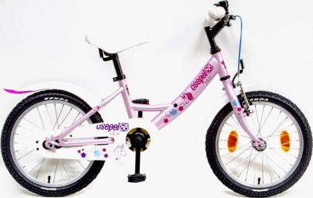 """Csepel Lily 16"""" GR kerékpár rózsaszín unikornis"""