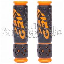 Markolat Pro Grip new gel 125mm vágható fekete-narancs