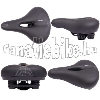 Bike + comfort elasztomer rugós férfi nyereg
