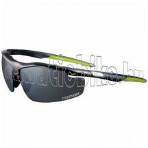 Merida Race szemüve fényes zöld fekete, cserélhető lencse, kemény tok