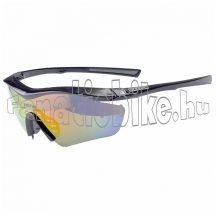Bikefun AirJet cserélhető lencsés szemüveg fekete